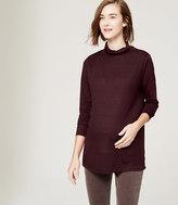 LOFT Maternity Turtleneck Sweater