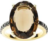Black Diamond Jan Logan 18ct Smoky Quartz Bianca Ring