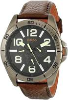BOSS ORANGE Men's 1513166 Berlin Analog Display Japanese Quartz Brown Watch