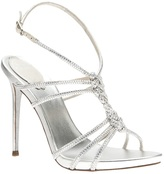 Rene Caovilla braided strap sandal