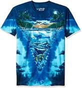 Liquid Blue Men's Night Time Dive T-Shirt