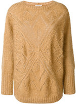Mes Demoiselles round neck jumper