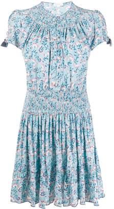 Poupette St Barth floral print mini dress