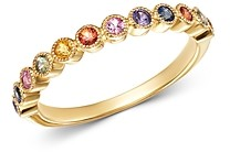 Bloomingdale's Multicolor Sapphire Band Ring in 14K Yellow Gold - 100% Exclusive