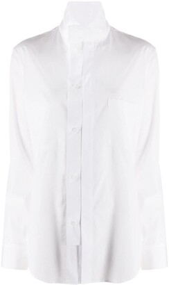 Y's Stand-Up Collar Shirt