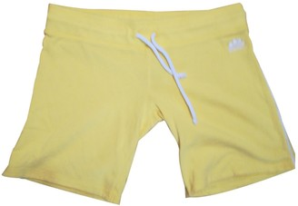 Sundek Yellow Cotton Shorts for Women