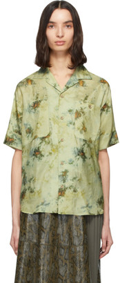 ANDERSSON BELL Green Forest Whisper Shirt