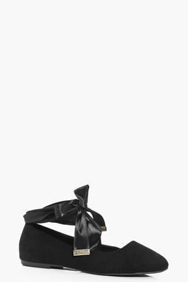 boohoo Ribbon Wrap Ballets