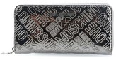Moschino Women's Grey Leather Wallet.