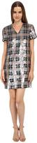 Kate Spade Sequin Plaid Shift Dress