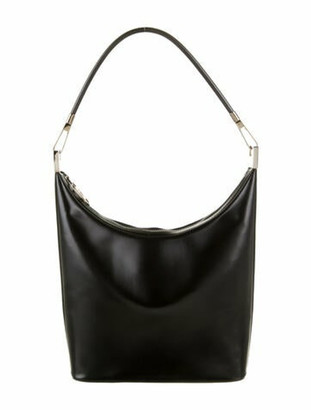 Gucci Smooth Leather Hobo Black