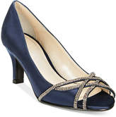 Caparros Eliza Peep-Toe Evening Pumps Women's Shoes