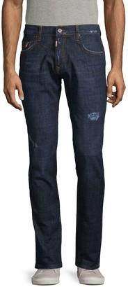 Rnt23 Distressed Stretch Jeans