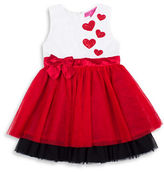 Betsey Johnson Girls 2-6x Sequined Heart Dress