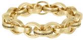 Laundry by Shelli Segal Goldtone Stretch Link Bracelet