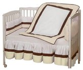 Baby Doll Bedding Classic Crib Bedding Set - Ecru