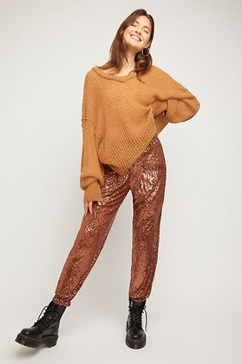 Free People Morelia Sequin Joggers