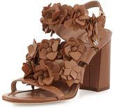 Tory Burch Blossom Leather 65mm Sandal