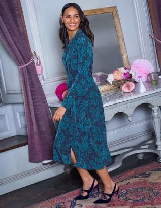 Jemima Silk Shirt Dress