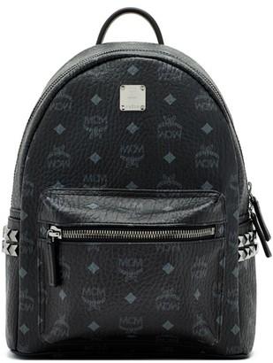 MCM Stark Side Stud Visetos Backpack