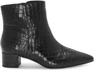 Corso Como Freen Textured Leather Booties
