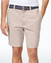 Club Room Men's Big and Tall Flat-Front 9and#034; Shorts, Created for Macy's