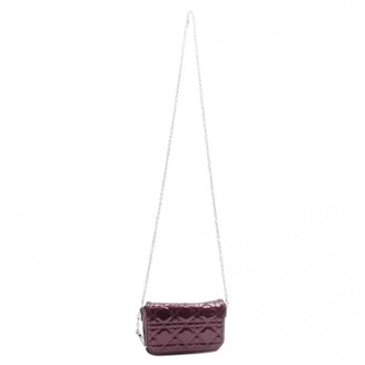 Christian Dior Miss Burgundy Patent leather Handbags