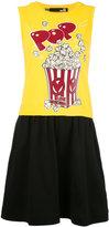 Love Moschino popcorn print dress - women - Cotton - 40