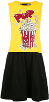 Love Moschino popcorn print dress - women - Cotton - 46