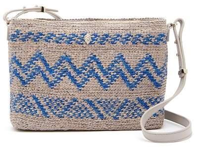 Helen Kaminski Zimala Leather Trimmed Crossbody Bag