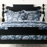 Ethan Allen Monikka Blue Floral Duvet Cover