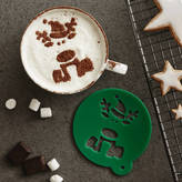 Sophia Victoria Joy Children's Christmas Reindeer Hot Chocolate Stencil