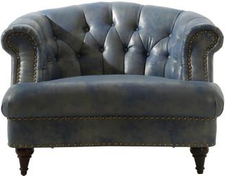 Chic Home Randalls Blue Club Chair