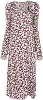 Marni long-sleeved floral dress