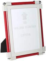 "William Yeoward Classic Shagreen Scarlet Photo Frame - 5""x7"