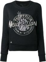 Philipp Plein New York embellished sweatshirt