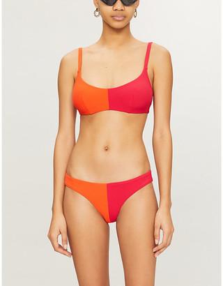 3003613 Colour-blocked bikini top