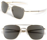 Randolph Engineering Men's 55Mm Aviator Sunglasses - Gold