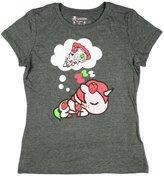 Tokidoki Berry Good Pizza Womens Heather Grey T-Shirt