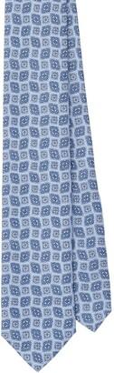 Prada Arabesque Print Twill Tie