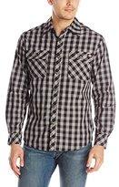 Dickies Men's Long-Sleeve Buffalo Plaid Shirt