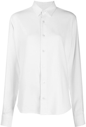 AMI Paris Buttoned Long-Sleeved Shirt