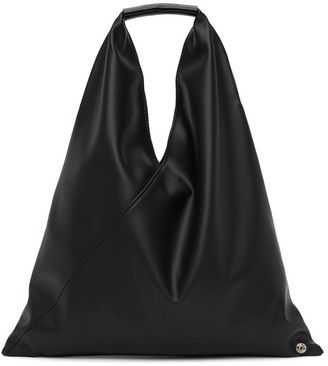 MM6 MAISON MARGIELA Black Small Triangle Tote