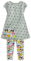 Disney ''Tsum Tsum'' Dress and Leggings Set for Girls