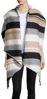 Collection 18 Striped Wrap Scarf