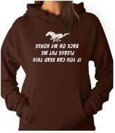 TeeStars Put Me Back On My Horse Cowgirl Funny Gift for Ride Riding Lover Women Hoodie