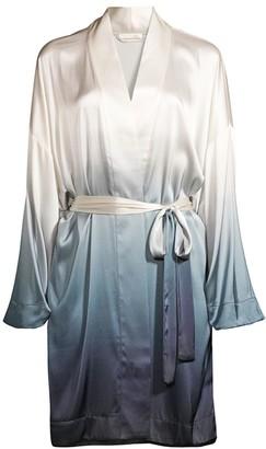 Skin Sandwashed Stretch-Silk Separates Robe