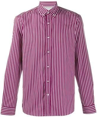 Brunello Cucinelli vertical striped shirt