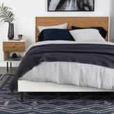 west elm Reclaimed Wood + Lacquer Bed