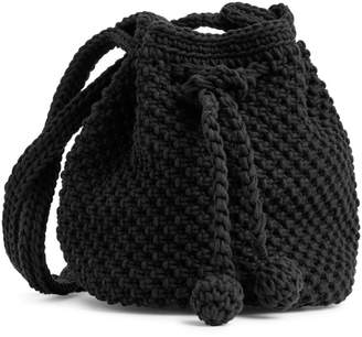 Arket Crochet Bucket Bag